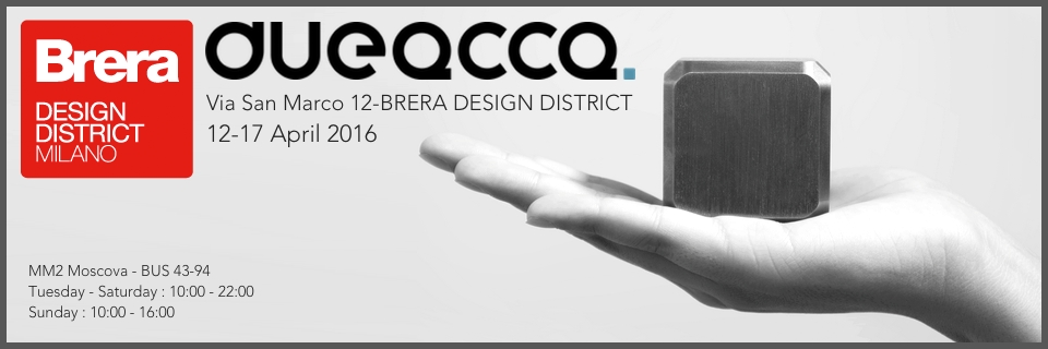 DUEACCA at Brera Design District 2016