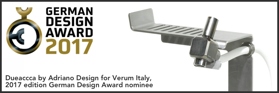 dueacca by adriano design german design award nominee